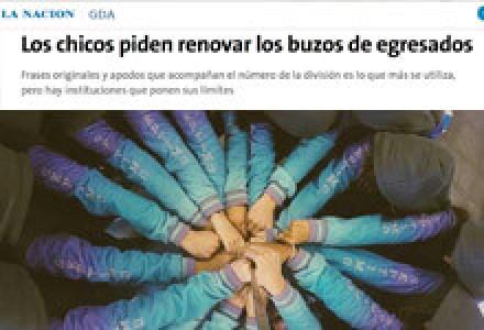 Los chicos piden renovar los buzos de egresados